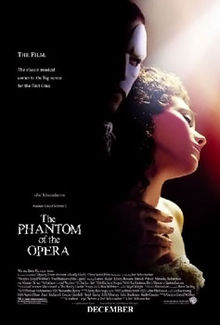 The Phantom of the Opera 2004 film
