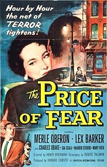 The Price of Fear 1956 film