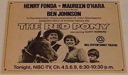 The Red Pony 1973 film