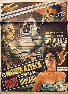 The Robot vs The Aztec Mummy