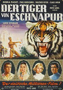 The Tiger of Eschnapur 1959 film