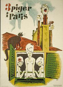 Three Girls in Paris
