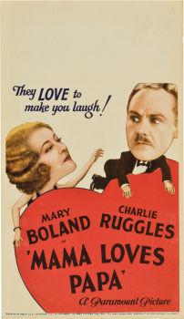 Mama Loves Papa 1933 film