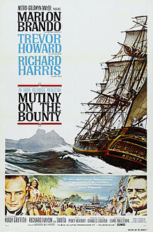 Mutiny on the Bounty 1962 film