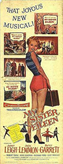 My Sister Eileen 1955 film