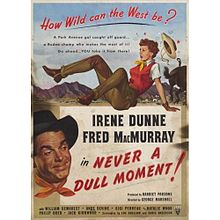 Never a Dull Moment 1950 film